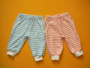 Kalhoty do nápletu (bio bavlna oboulícní)