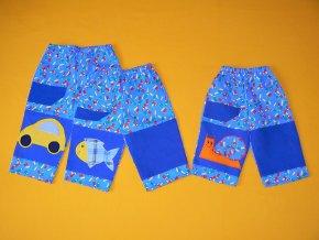 Pastelkové kalhoty