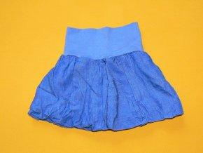 Plátěná balónová sukně