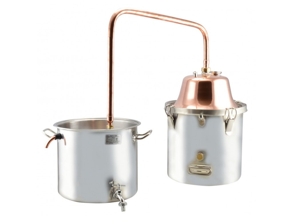 Destilační souprava 18 l Copper Inox PREMIUM