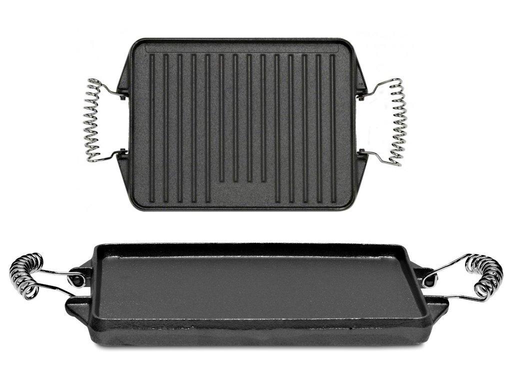 Litinová grilovací deska VACA 27x21 cm
