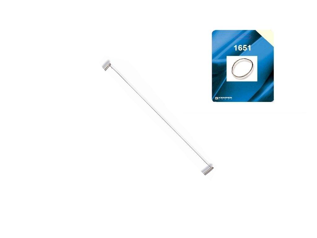 Struna - řezačka polystyrénu - 0,23 mm / 1 m