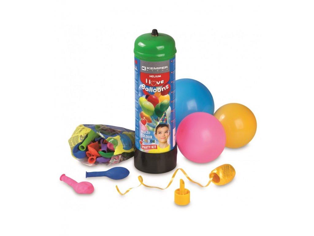 set bombola elio 22lt con 30 ballons