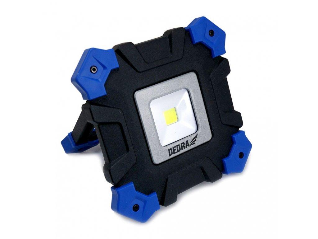 DEDRA COB LED nabíjecí pracovní reflektor L1024, 800 lm, 4400 mAh
