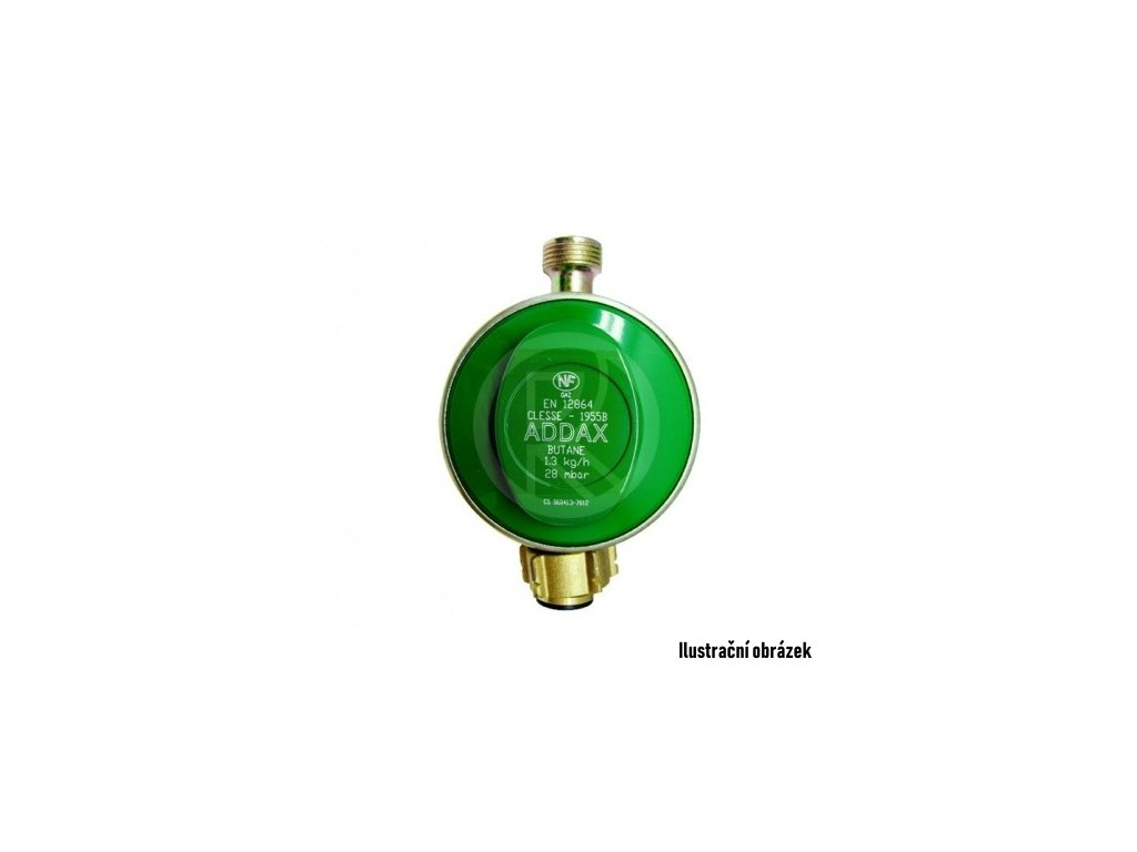 Regulátor ADDAX PB 37mbar 1,5kg/h