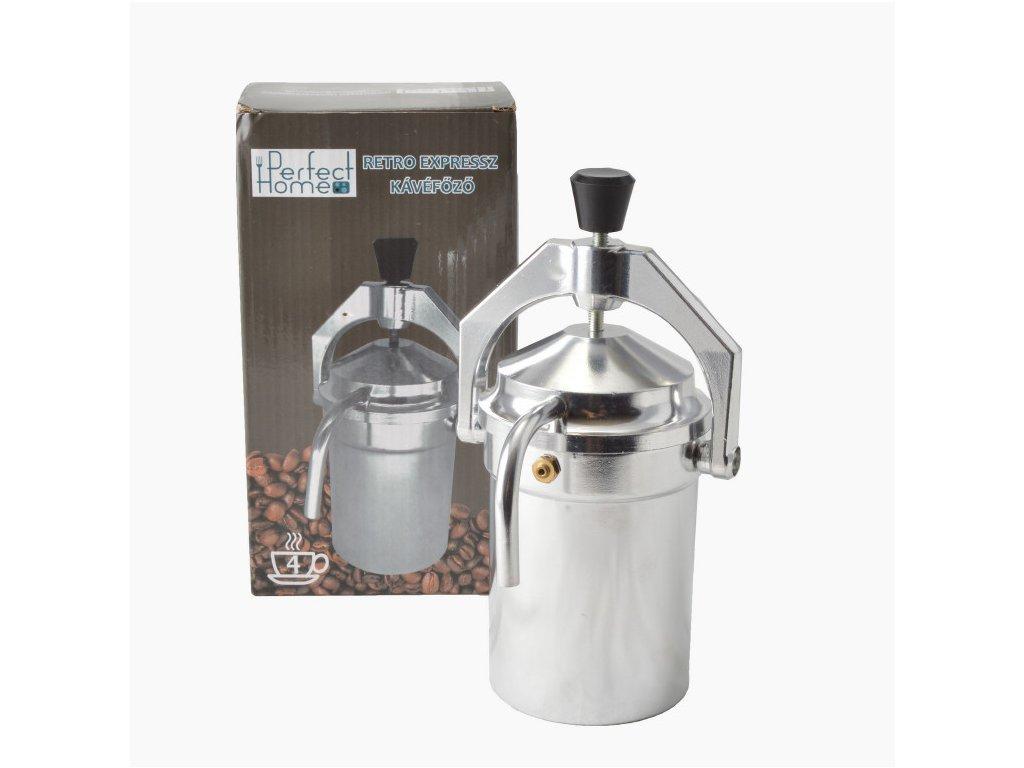 Kávovar Retro Espresso 4 šálky IK13259