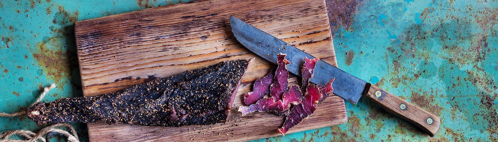Sušené maso Biltong banner 1