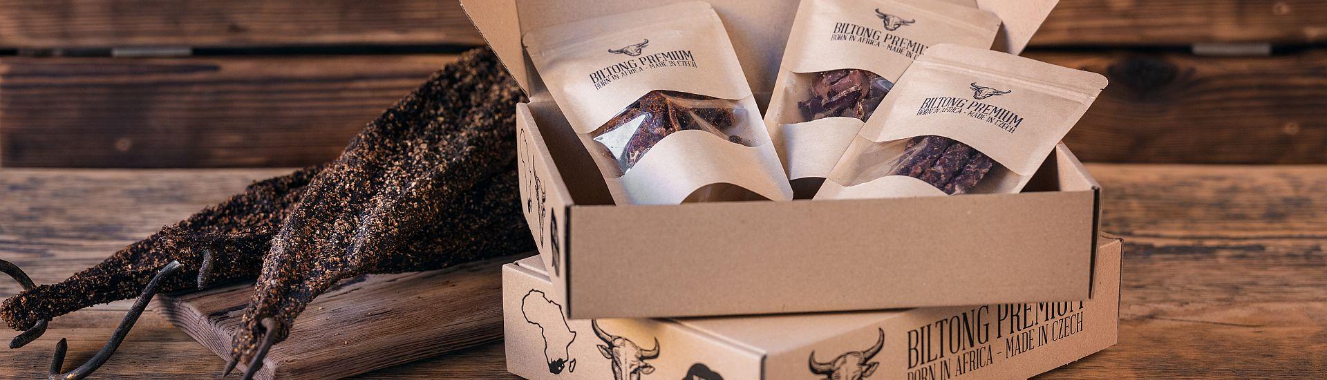 Sušené hovězí maso Biltong Premium
