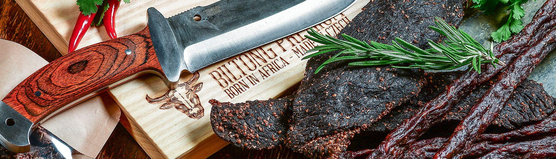 Biltong Premium sušené hovězí maso