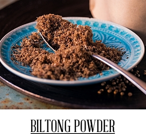 Biltong Powder masový prášek