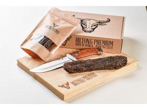 Dárkový set hovězího masa Biltong