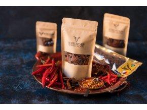 Sušené maso Biltong Premium Chilli 100g