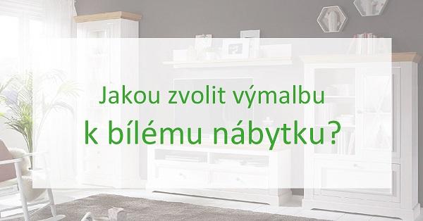 Výmalba k bílému nábytku: Jaká barva je ta pravá a jaké se raději vyhnout?