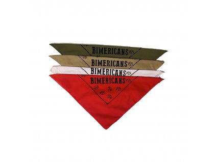 Šátek Bimericans made