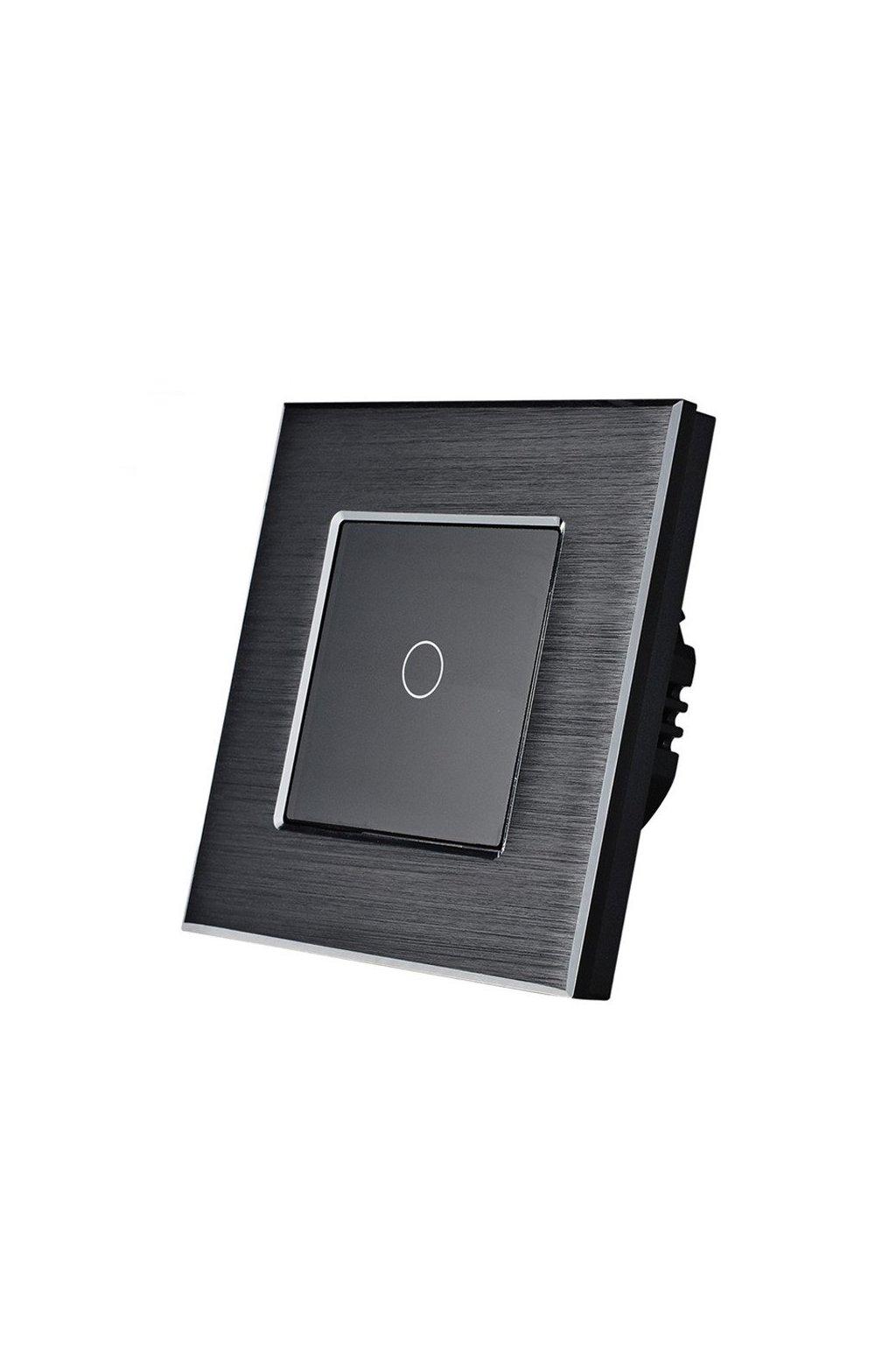 Dotykový vypínač - radenie č.1 - Brúsený hliník