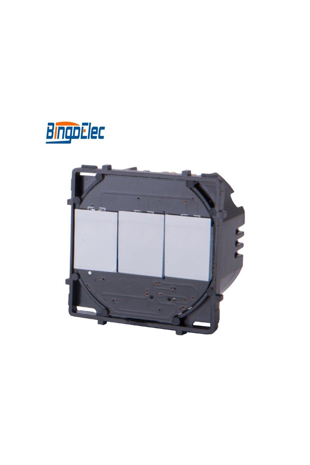 Dotykový modul vypínača - radenie č.5 (Tri okruhy)