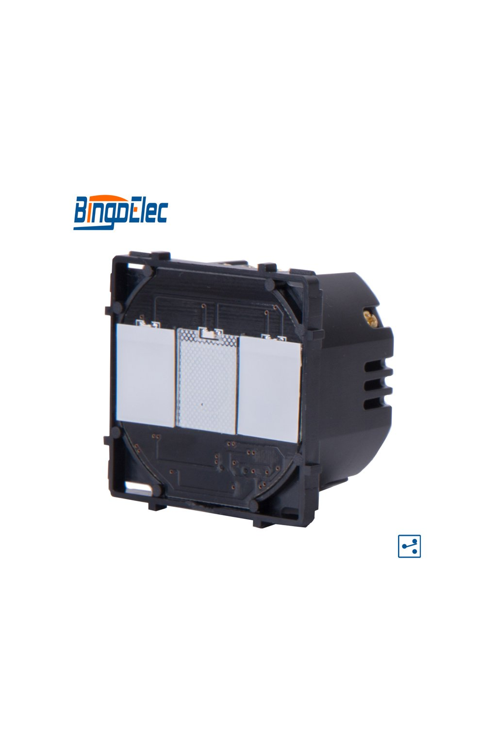 Dotykový modul vypínača - radenie č.5B (Dva okruhy)