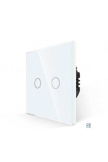 Dotykový vypínač - radenie č.5B (Dva okruhy)