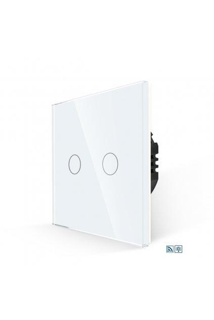 Dotykový stmievač s RF - radenie č.5 - Tvrdené sklo