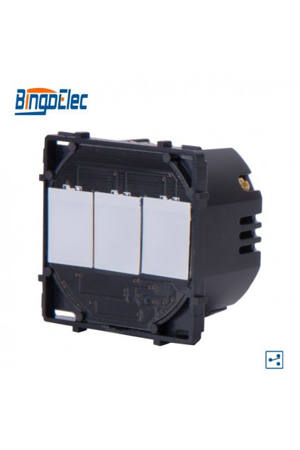 Dotykový modul vypínača - radenie č.5B (Tri okruhy)
