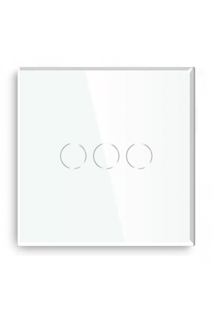Sklenený panel - 3 okruhy