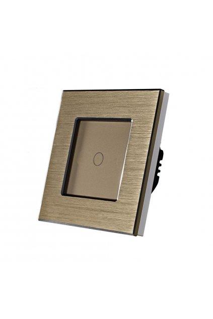 Dotykový vypínač - SILICON CONTROL - radenie č.1 - Brúsený hliník