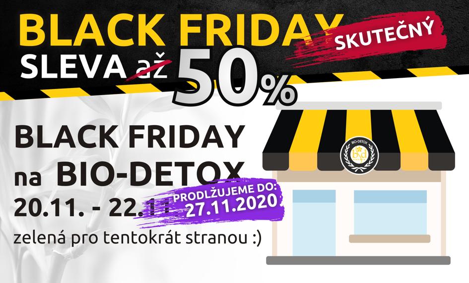 BLACK FRIDAY 50% SLEVA prodloužení