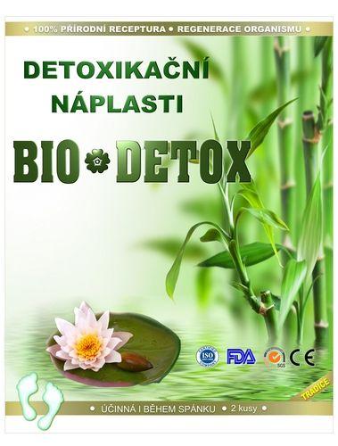 Detoxikační náplasti BIO-DETOX