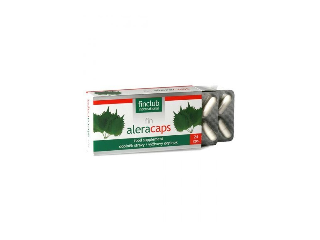 fin Aleracaps 24 kapslí - Výtažek z byliny perily křovité