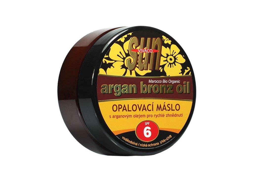 Opalovací máslo s bio arganovým olejem SPF 6 SUN VITAL