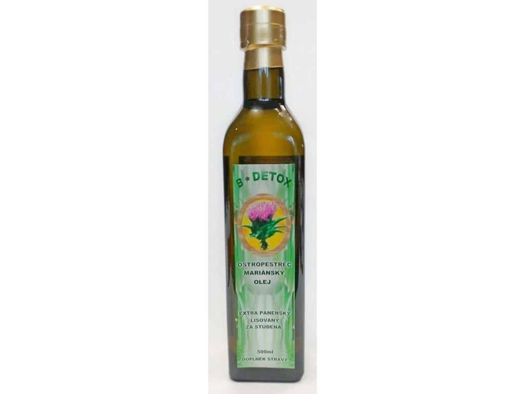 """""""JARO"""" Extra panenský olej z Ostropestřce mariánského 500 ml"""