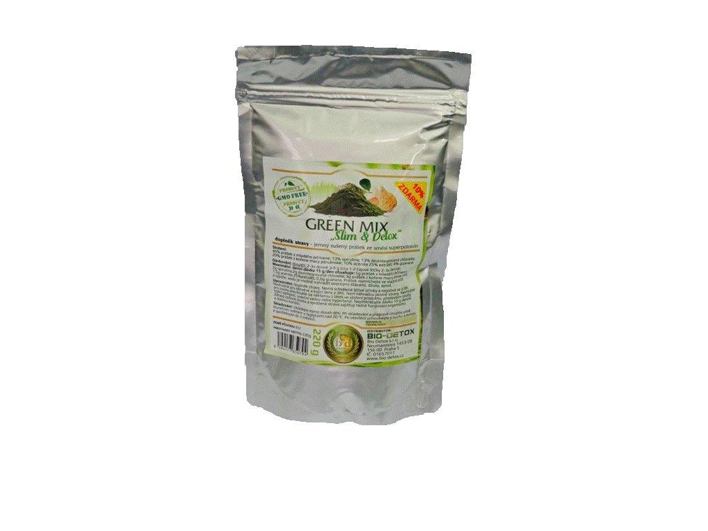 NV Green MIX prášek ze směsi Superpotravin 220g