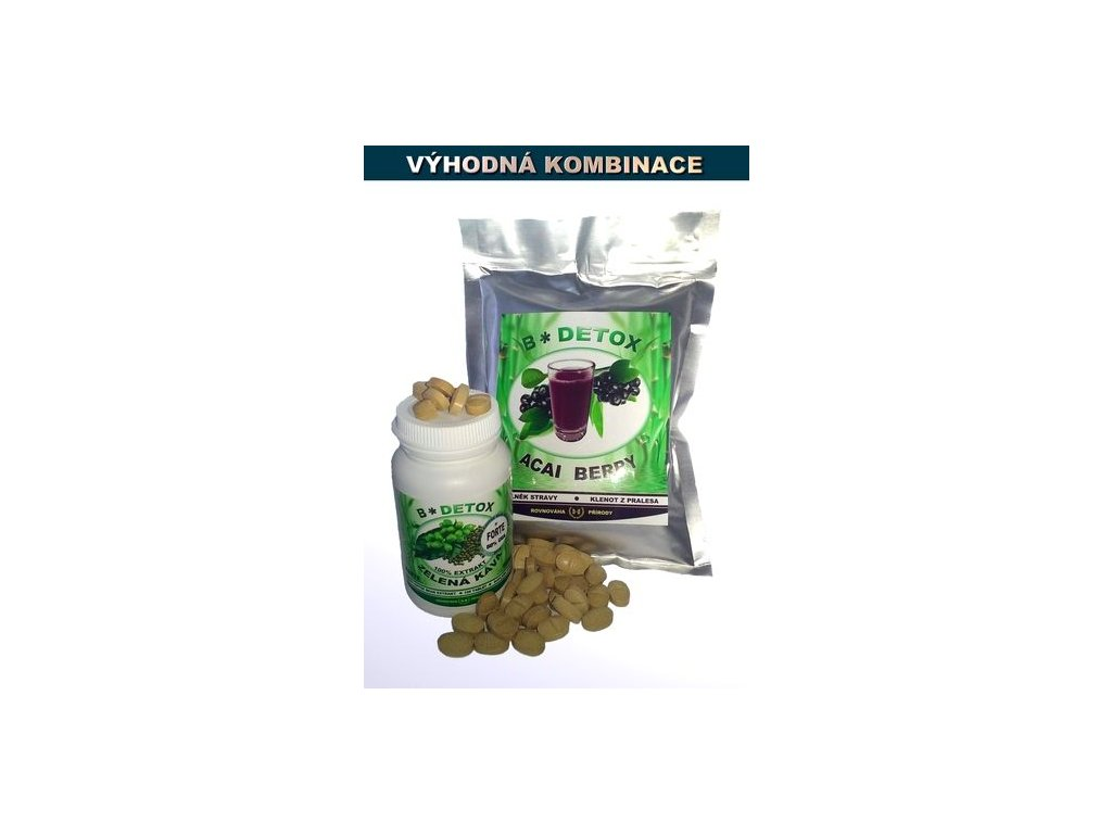 NV Zvýhodněný balíček Acai Berry 200g + Zelená káva FORTE 60t