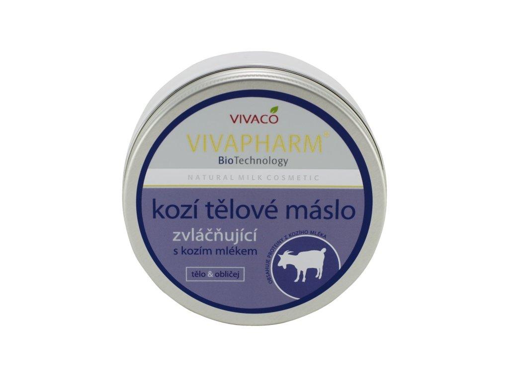 Tělové máslo s kozím mlékem