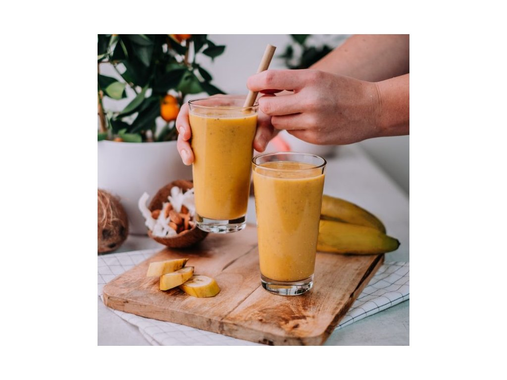 vegan protein shake strawberry