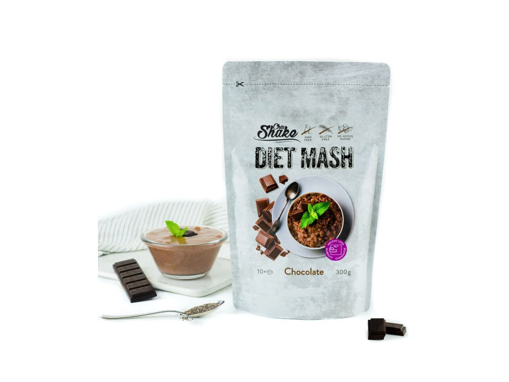diet mash chocolate