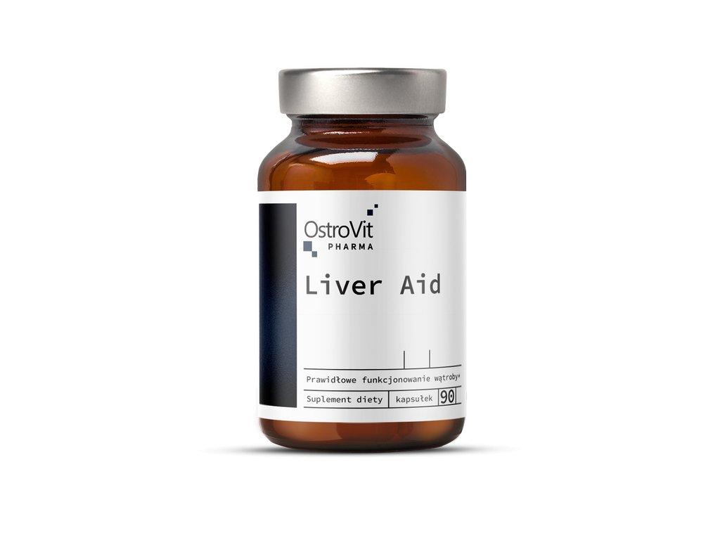 OstroVit Pharma Liver Aid 90 caps 25290 1