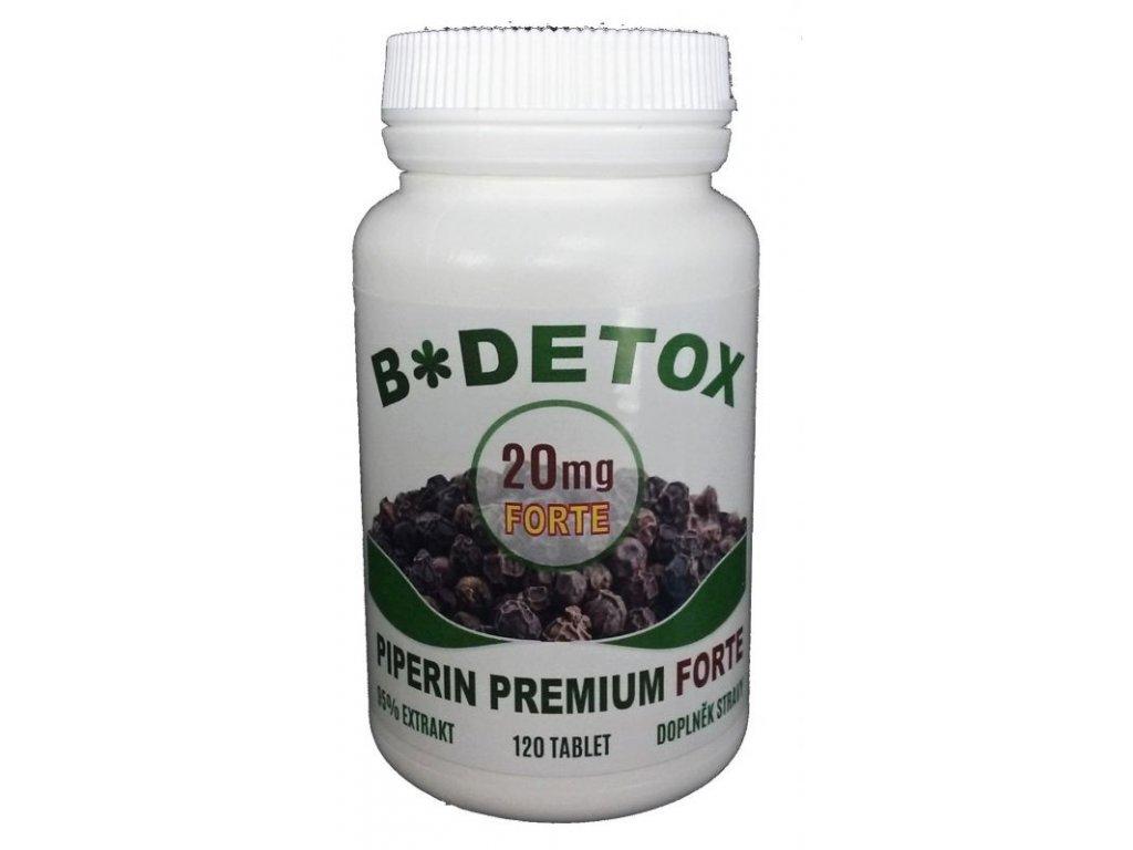 Piperin Premium FORTE 20mg 120tbl.
