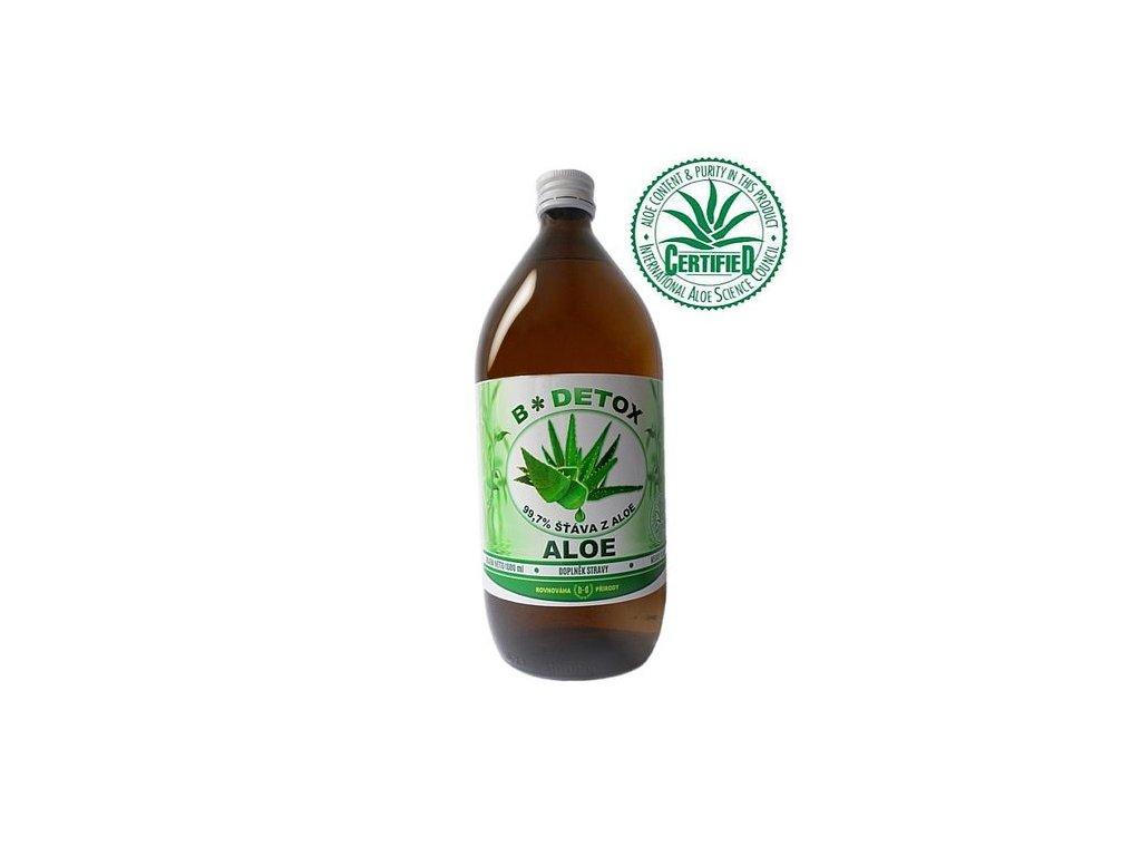 Šťáva z Aloe 99,7% 1000 ml