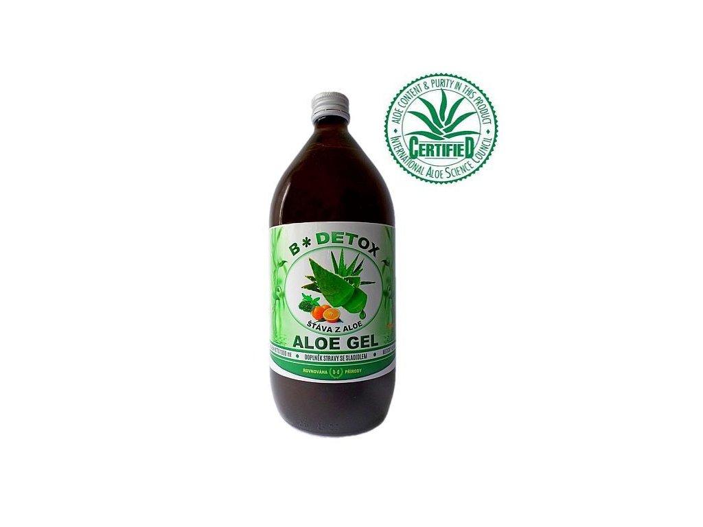Aloe GEL na Detoxikaci