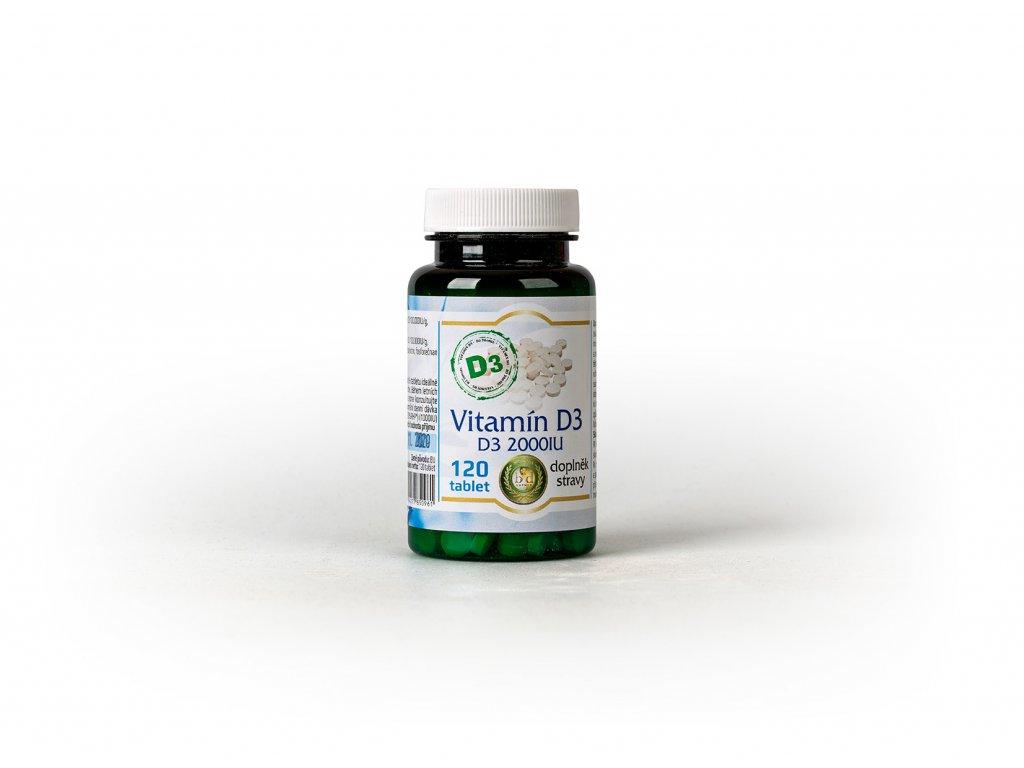 Vitamín D3 - 120 tablet