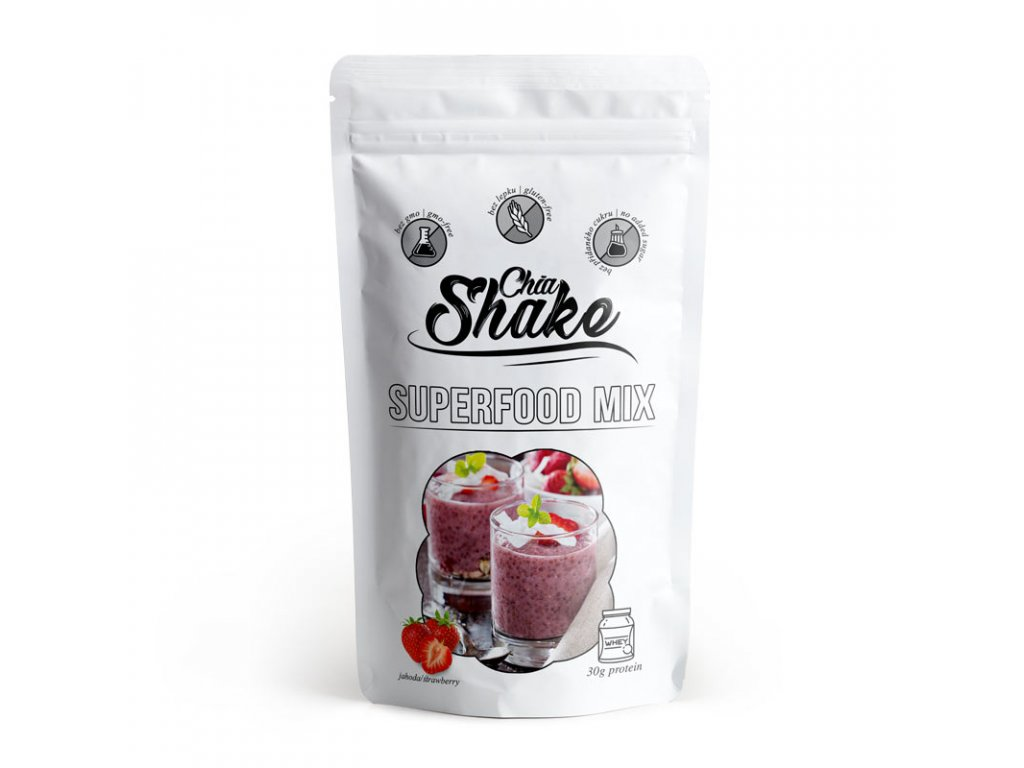 Chia Milk Shake Strawberry