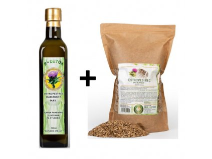 olej + semínka ostropestřec mariánský 500g