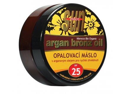 Opalovací máslo s bio arganovým olejem SPF 25 SUN VITAL