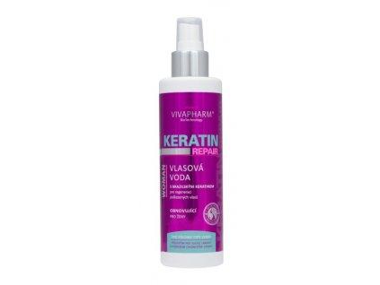 Keratinová vlasová voda pro ženy