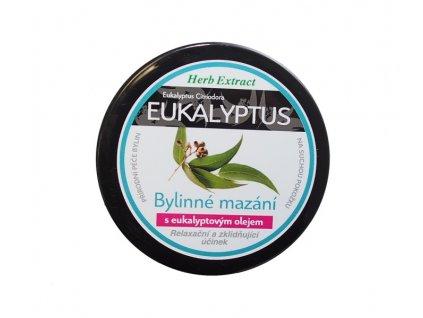 Bylinná mast s eukalyptem