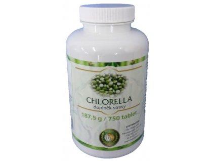 Chlorella 750 tbl. 187,5g