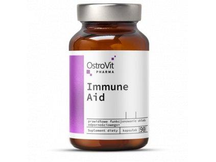 pol pm OstroVit Pharma Immune Aid 90 kapsulek 25291 1