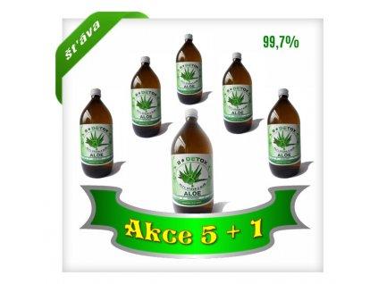 Šťáva z Aloe 99,7% 1000 ml  AKCE 5+1 ZDARMA