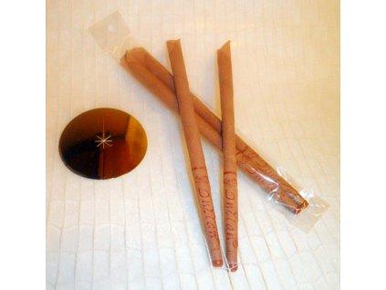 Ušní svíčky 2ks se silicí Santalového dřeva